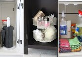 3 Cabinet Storage Solutions