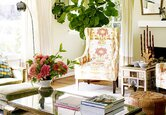 Room Tour: Boho Traditional Living Room