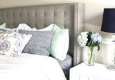 Cozy, Cool Master Bedroom Makeover