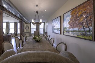 Rustic Dining Room photo by Marie Burgos Design