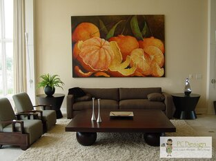 Contemporary Living Room photo by Castellini Interior Design
