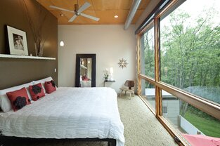 Modern Bedroom photo by Luca Construction and Design