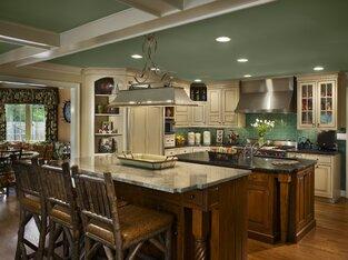 Rustic Kitchen photo by Joseph A Berkowitz Interiors