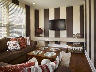 Contemporary Living Room photo by Joseph A Berkowitz Interiors