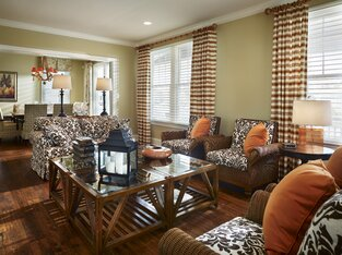 Coastal Living Room photo by Joseph A Berkowitz Interiors