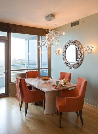 Contemporary Dining Room photo by Deb Reinhart Interior Design Group, Inc.