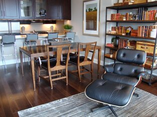 Contemporary Dining Room photo by Interior Design Solutions, LLC