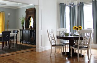Traditional Dining Room photo by Victoria Elizabeth Design