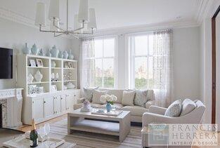 Contemporary Living Room photo by Frances Herrera Interior Design