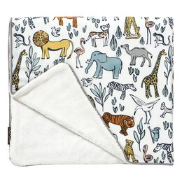 Safari Stroller Blanket