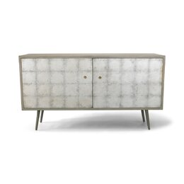 Franklin Silver Leaf Media Cabinet