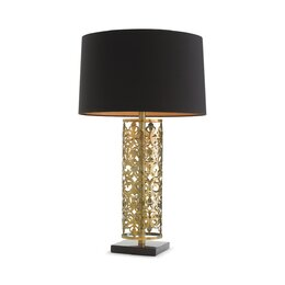 "Remsen 35.5"" H Table Lamp with Drum Shade"