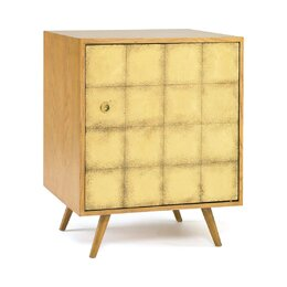 Franklin Gold Leaf Side Cabinet