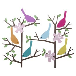 Sparrows Wall Decal
