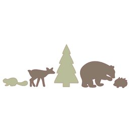 Woodland Tumble Wall Decal
