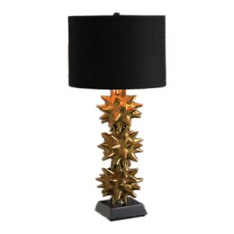 "Urchin "" H Table Lamp with Drum Shade"