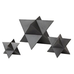 3 Piece Star Objet Set
