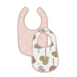 Treetops Muslin Bib (Set of 2)