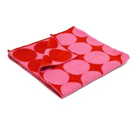 Graphic Dot Spice & Orchid Blanket