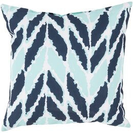 Arrow Aqua Outdoor Pillow
