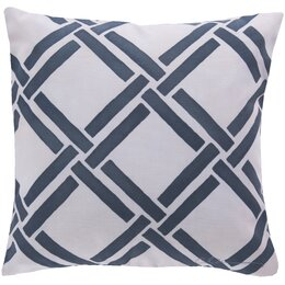 Gazebo Navy Outdoor Pillow
