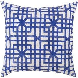 Lattice Marine Outdoor Pillow