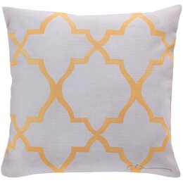 Minaret Lemon Outdoor Pillow
