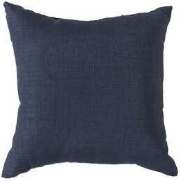 Textured Indigo Outdoor Pillow