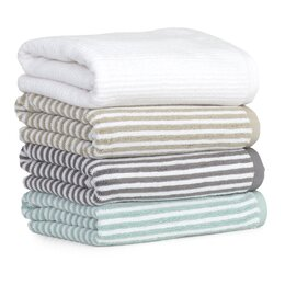 Mini Stripe 6 Piece Towel Set