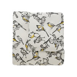 Aviary Citrine Duvet Cover