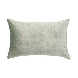 Etched Velvet Mist Pillow