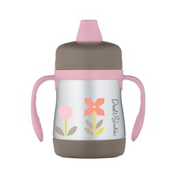 Rosette 7 oz Insulated Soft Spout Sippy Cup