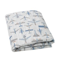Flight Fitted Crib Sheet
