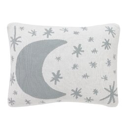 Galaxy Dusk Knitted Boudoir Pillow