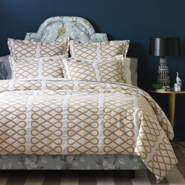 Arabesque Ochre Duvet Cover