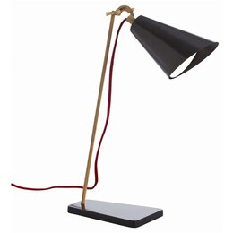 "Philip 20.5"" H Table Lamp with Oval Shade"