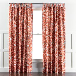 Pantheon Persimmon Curtain Panels