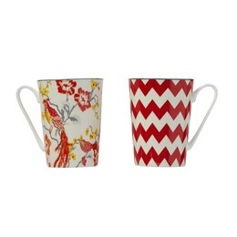 Red Mug Set (Set of 4)