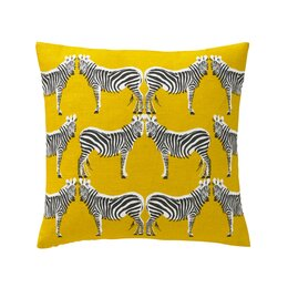 Zebra Pillow - COVER ONLY