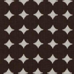 Dotscape Fabric - Major Brown