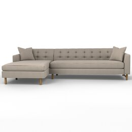 Edward Left Arm Chaise Sectional Sofa
