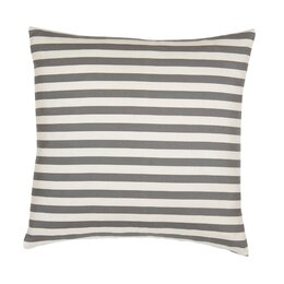 Draper Stripe Ash Euro Sham (Set of 2)