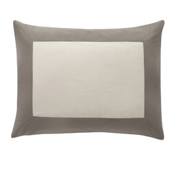 Modern Border Smoke Sham (Set of 2)