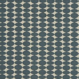 Almonds Fabric - Mineral