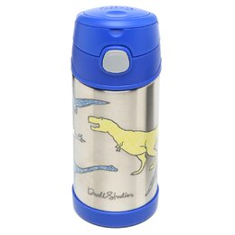 Dinosaurs 12 oz Funtainer Straw Bottle