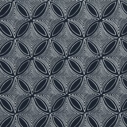 Desert View Fabric - Navy