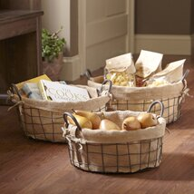 <strong>Farmhouse Baskets (Set of 3)</strong>