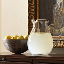 Classic Glassware Water Pitcher