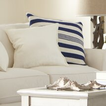 <strong>Edie Pillow Cover, Navy</strong>