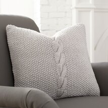 Peyton Pillow Cover, Stone